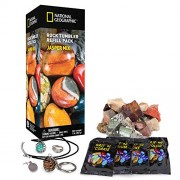 Rough Jasper Refill Kit for Rock Tumbler by National Geographic