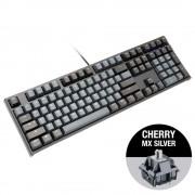 KBD, Ducky One 2 Skyline, Gaming, Механична, MX Cherry Silver, USB, Black (DKON1808-PUSPDZHBS)