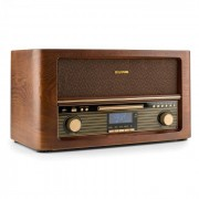 Auna Belle Epoque 1906 DAB equipo de sonido retro CD MP3 Bluetooth USB FM