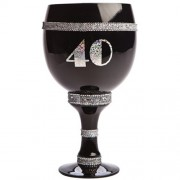 """40th Birthday Pimp Cup - Silver"""