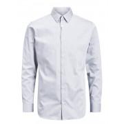Jack and Jones Jprnon Iron Shirt L/s Noos - grijs - Size: Medium