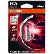 Osram Night Breaker Unlimited H3 1db - 64151NBU-01B autós izzó