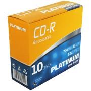 PTM 100144 - CDR 80min/700MB 10-SlimCase