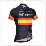 Maillot Ciclista Corto Movistar 2014