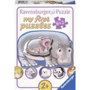 PRIMUL MEU PUZZLE ANIMALUTE 6x2 PIESE Ravensburger