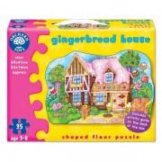 Puzzle de podea Casuta de turta dulce (35 piese)
