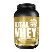 Total whey proteína sabor baunilha 1kg - Gold Nutrition