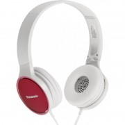 HEADPHONES, Panasonic RP-HF300ME-P, Microphone, Pink