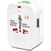 Trioflextech WA-001 Worldwide Adaptor(White)