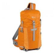 Lowepro Borsa per Fotocamera Photo Sport Sling 100 AW, Arancione/Grigio Chiaro