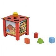Skillofun Wooden Multi Activity Box Multi Color