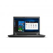 """ThinkPad P72 Noir Station de travail mobile 43,9 cm (17.3"""") 1920 x 1080 pixels Intel® Core™ i7 de 8e génération i7-8750H 8 Go DD"""