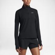 Haut de runningà manches longues demi-zippé Nike Dri-FIT Element pour Femme - Noir