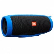 funda de silicona suave para altavoz bluetooth JBL charge 3 - azul