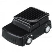 DIY 0.15W Solar Powered mini juguete educativo lindo coche - blanco + negro