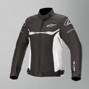 Alpinestars Giacca Moto Donna Stella T-SPS WP Nero-Bianco
