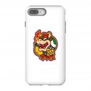 Nintendo Funda móvil Nintendo Super Mario Bowser Kanji para iPhone y Android - iPhone 8 Plus - Carcasa doble capa - Mate