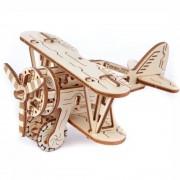 WOODEN CITY Spel Vliegtuig 3d Puzzel voor kinderen - Wit