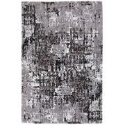 Covor Decorino Alen, modern & geometric, lana/vascoza, C16-257004, 140 x 200 cm, Gri