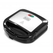 Sandwichera de placas profundas Black&Decker SM24530-CL