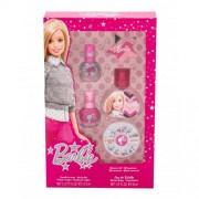 Barbie Barbie set cadou edt 30 ml + lac de unghii 2 x 5 ml + pila de unghii + strasuri unghii pentru copii