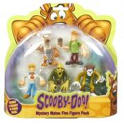 Set 5 figurine 7 cm personaje Scooby Doo pentru copii