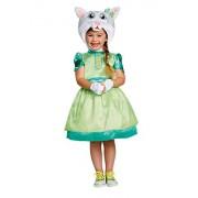 Daniel Tiger's Neighborhood Katerina Kittycat Deluxe Toddler Costume, One Color, 4-6X