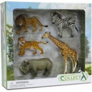 Set 5 figurine safari Collecta