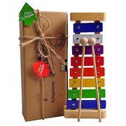 Xylophone for Kids: Best for your Mini Musicians Musical Toy with Bright Multi-Colored Keys and Child-Safe Wooden Mallets Perfectly Tuned Instrument for Toddlers with Free Music Cards
