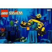 Rare retired 1995 Lego 1822 Aquazone Sea Claw 7