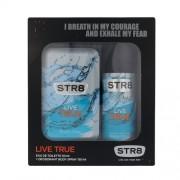 Str8 Live True 50Ml Edt 50 Ml + Deodorant 150 Ml Per Uomo (Eau De Toilette)