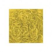 Elastice Rainbow Loom - Jelly Galben-600 buc