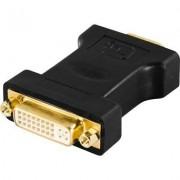 Deltaco DVI till VGA-adapter
