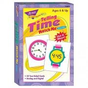 Trend Enterprises Inc . Telling Time Match Me Tarjetas