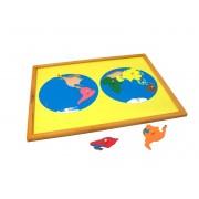 Montesori puzzle svet ATG0074 (14048)