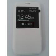 Страничен тефтер за Samsung Galaxy S5/S5 Neo бял