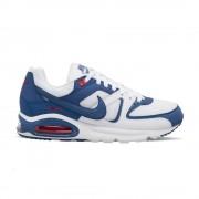 Nike Sneakers Air Max Command Bianco Blu Uomo EUR 43 / US 9.5