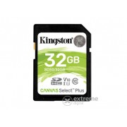 Card memorie Kingston Canvas Select Plus 32GB SDHC , class 10, UHS-I, U1, V10
