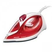 Парна ютия Philips EasySpeed 2000W 25g/min steam, Anti-calc, red GC1029/40