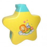 Baby Sleep Projector With Star Light Show And Music For New Born(Yellow)