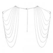 Bijoux Indiscrets (SP) Łańcuszek na Plecy Bijoux Indiscrets Magnifique Srebrny 100% DYSKRECJI BEZPIECZNE ZAKUPY