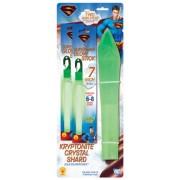 Superman Kryptonite Crystal Shard with Glow Sticks