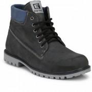 Eego Italy Black Stylish Trendy Casual Boot