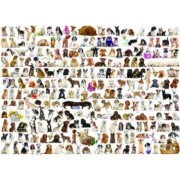 Puzzle 1000 piese The World of Dogs