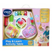 Vtech Masuta interactiva cu activitati roz 148053 (limba engleza )