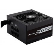Corsair Fuente de alimentación TX750M 80 PLUS Gold, 20+4 pin ATX, 140mm, 750W