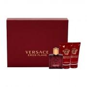 Versace Eros Flame confezione regalo eau de parfum 50 ml + balsamo dopobarba 50 ml + doccia gel 50 ml uomo