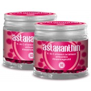 2db-os Astaxanthin (60db) multifunkcionális antioxidáns E és C vitamin csomag