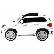 Masinuta electrica cu telecomanda si roti din cauciuc Mercedes GL63 White