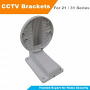 Free Shipping Wall Mount Bracket CCTV Camera Accessories For Hik 21xx 31xx Series Dome Camera CCTV Bracket DS-1258ZJ